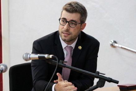 O procurador Grhegory Paiva disse que Procuradoria pode propor ação contra ex-deputados (Crédito: Alair Ribeiro/MidiaNews)