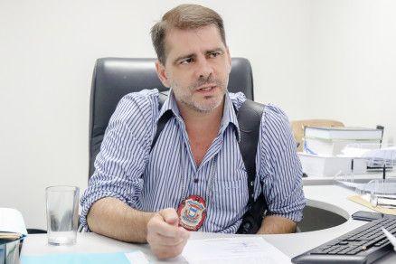 Chefe da GCCO, da Polícia Civil, delegado Flávio Stringueta (Crédito: Alair Ribeiro/MidiaNews)