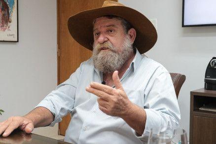 O presidente do PSL em Mato Grosso, deputado federal Nelson Barbudo (Crédito: Alair Ribeiro/MidiaNews)