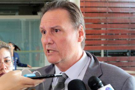 O delegado Ricardo Monteiro, que defende o tenente-coronel (Crédito: Alair Ribeiro/MidiaNews)