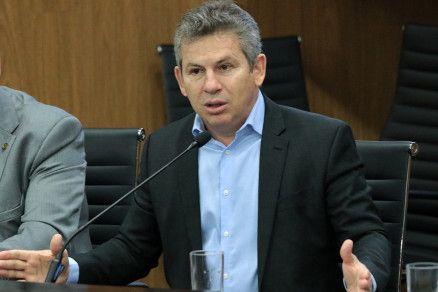 O governador de Mato Grosso, Mauro Mendes (Crédito: Reprodução)