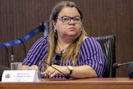 A secretária estadual de Educação, Marioneide Kliemaschewsk (Crédito: Reprodução)