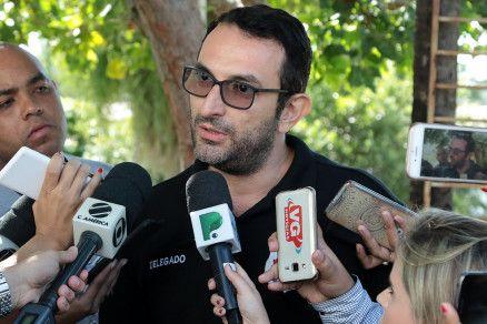 O delegado Lindomar Tofoli, responsável pela investigação da Operação Especialista (Crédito: Alair Ribeiro/MidiaNews)