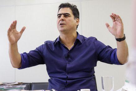 O prefeito Emanuel Pinheiro, que disse ter apoio de 11 siglas para eventual reeleição (Crédito: Alair Ribeiro/MidiaNews)