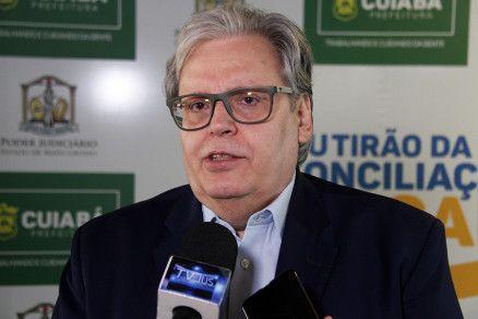 O secretário Antônio Possas, que rebateu acusações de senadora (Crédito: Otmar de Oliveira/Agência F5)
