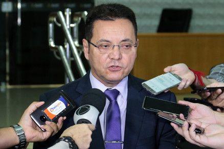 O presidente da Assembleia, Eduardo Botelho (DEM):