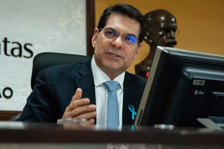 O presidente do Tribunal de Contas, Domingos Campos Neto (Crédito: Mídia News)