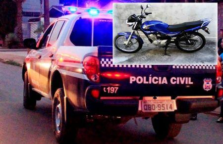 Homem empresta moto para conhecido, não devolve e vende a moto para outro. (Crédito: ilustrativa)