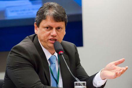 ministro da Infraestrutura, Tarcísio Gomes de Freitas (Crédito: Reprodução)