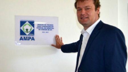Alexandre Schenkel, presidente da Associação dos Produtores de Algodão de MT. (Crédito: Ampa-MT)