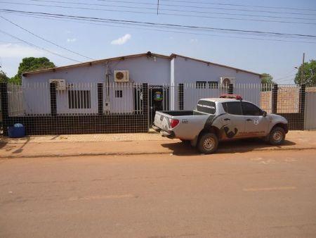 Delegacia de Polícia Judiciária Civil de Confresa (Crédito: Agência da Notícia)