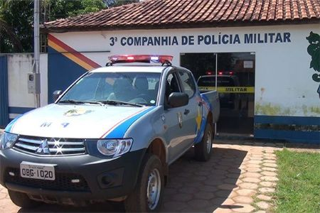 O suspeito foi preso pela Polícia Militar do município de Confresa (Crédito: Agência da Notícia)