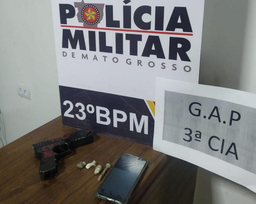 Casa em que os suspeitos foram encontrados, na Vila Campinas.