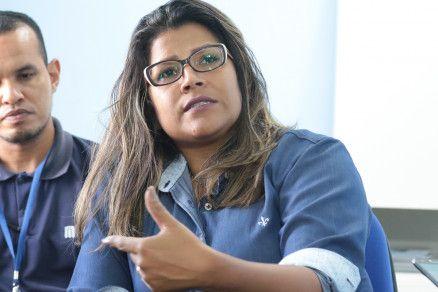A delegada Jannira Larenjeira, que está à frente do caso (Crédito: Reprodução)