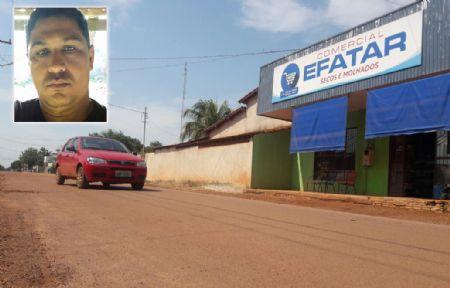 O roubo ocorreu em um mercado no setor da Saúde, em Confresa. (Crédito: Agência da Notícia)