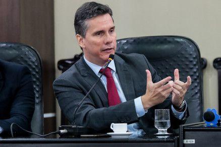O secretário de Estado de Fazenda Rogério Gallo (Crédito: Alair Ribeiro/MidiaNews)
