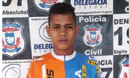 """Danilo Pereira de Souza, 21 anos, mais conhecido como """"Falco"""" (Crédito: Agência da Notícia)"""