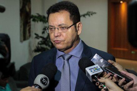O presidente da Assembleia Legislativa, deputado Eduardo Botelho (Crédito: Alair Ribeiro/MidiaNews)