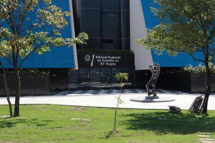 A sede do Tribunal Regional do Trabalho, da 23ª Região, em Cuiabá (Crédito: Reprodução)