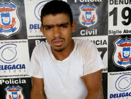 O foragido da justiça do Pará estava comentendo crimes em Confresa (Crédito: Agência da Notícia)