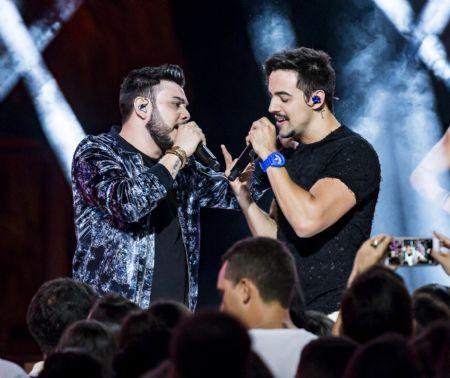 Fred e Gustavo é a principal atração da temporada 2018 de Luciara (Crédito: Agência da Notícia/Reprodução)