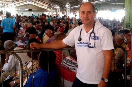 Dr. Eugênio, que é de Água Boa e recebeu 13.434 votos. (Crédito: Agência da Notícia/Reprodução)