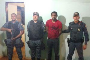 Formigão foi preso pela Polícia Militar de Santo Antônio do Fontoura (Crédito: Agência da Notícia)