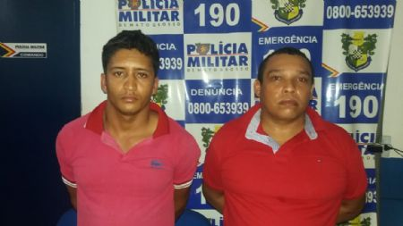 Os traficantes foram presos durante ação da Polícia Militar de Confresa (Crédito: Agência da Notícia)
