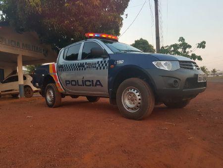 O caso foi atendido pela Polícia Militar de Santa Cruz do Xingu (Crédito: Agência da Notícia)