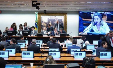 Sessão da Comissão Especial da Reforma da Previdência (Crédito: Pablo Valadares/Câmara)