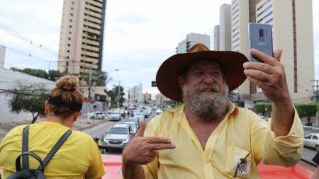 Nelson Barbudo (PSL) foi o deputado mais votado no MT e prometeu lutar judicialmente para que a demarcação de 2012 na terra indígena seja revista (Crédito: Reprodução / Facebook)