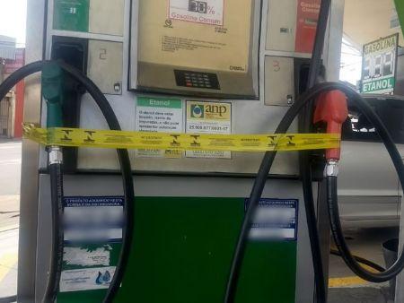 Em Bom Jesus do Araguaia, que teve um bico de gasolina aditivada interditado, e um em Novo Santo Antônio, que sofreu interdição em dois bicos de óleo diesel B S500. (Crédito: Agência da Notícia com Reprodução)