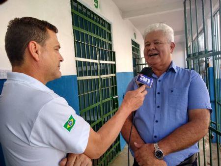 O prefeito de Vila Rica, Abmael Borges da Silveira destacou o esforço conjunto (Crédito: Agência da Notícia)