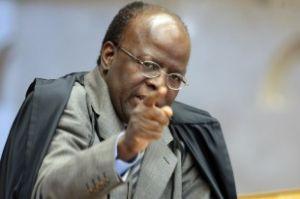 Ministro Joaquim Barbosa, presidente do Supremo e do Conselho Nacional de Justiça (Crédito: Reprodução)