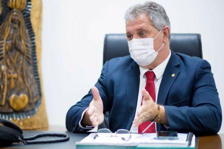O deputado estadual Dilmar Dal'Bosco, que vê saldo positivo com fusão entre DEM e PSL (Crédito: Agência da Notícia com Reprodução)