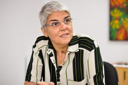 A professora Miryam Serra, reitora da Universidade Federal de Mato Grosso (Crédito: Reprodução)
