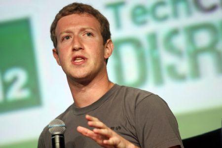 Mark Zuckerberg, cofundador e principal acionista do Facebook (Crédito: Agência da Notícia com Reprodução)