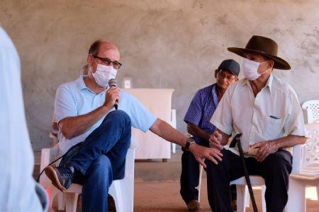Deputado tem focado na região do Araguaia em 100% do trabalho (Crédito: Agência da Notícia com Assessoria)