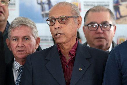 O ex-governador Júlio Campos, que quer Botelho disputando Prefeitura de Várzea Grande (Crédito: Alair Ribeiro/MidiaNews)