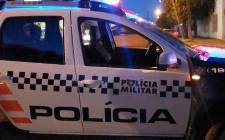 Polícia Militar fez rondas, mas não localizou suspeitos (Crédito: Foto: Reprodução.)