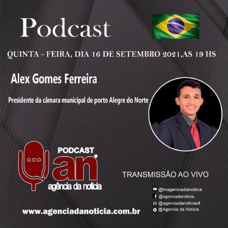 Presidente da Câmara de Porto Alegre do Norte é um dos mais jovens da região (Crédito: Agência da Notícia com Reprodução)