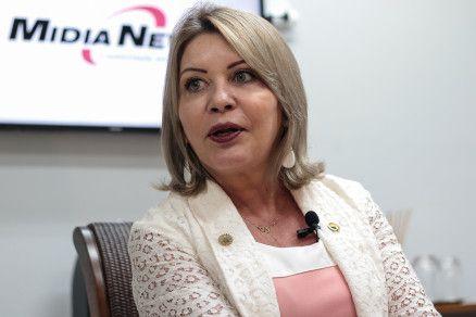 A senadora Selma Arruda, que completou três meses de Congresso (Crédito: Reprodução)