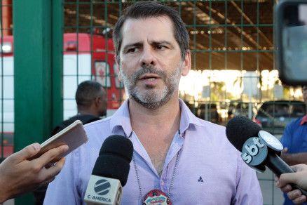 O delegado Flavio Stringueta, da GCCO: operação calculada (Crédito: Alair Ribeiro/MidiaNews)