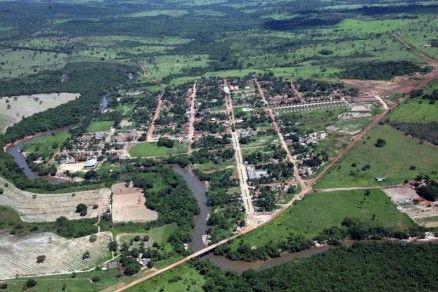 Araguainha é a menor cidade de Mato Grosso segundo IBGE (Crédito: Reprodução)