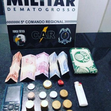 (Crédito: Polícia Militar de Mato Grosso)