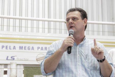 O evento tem presença confirmada de líderes do estado como Carlos Fávaro e Geraldo Macedo. (Crédito: Reprodução)