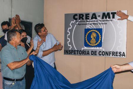 Inauguração aconteceu no fim da noite de sexta-feira (08) (Crédito: Agência da Notícia com Reprodução)