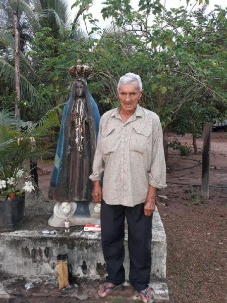 Falecimento de Joaquim Vieira de Aragão, aos 91 anos. (Crédito: Arquivo Pessoal)