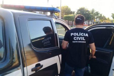 O suspeito de 28 anos estava com o mandado de prisão expedido pelo Poder Judiciário do Tocantins, acusado de crime de tráfico de drogas. (Crédito: Agência da Notícia com Reprodução)