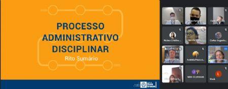 Curso de processo administrativo disciplinar de rito sumário para as Unidades Setoriais de Correição (Crédito: Ligiani Silveira)